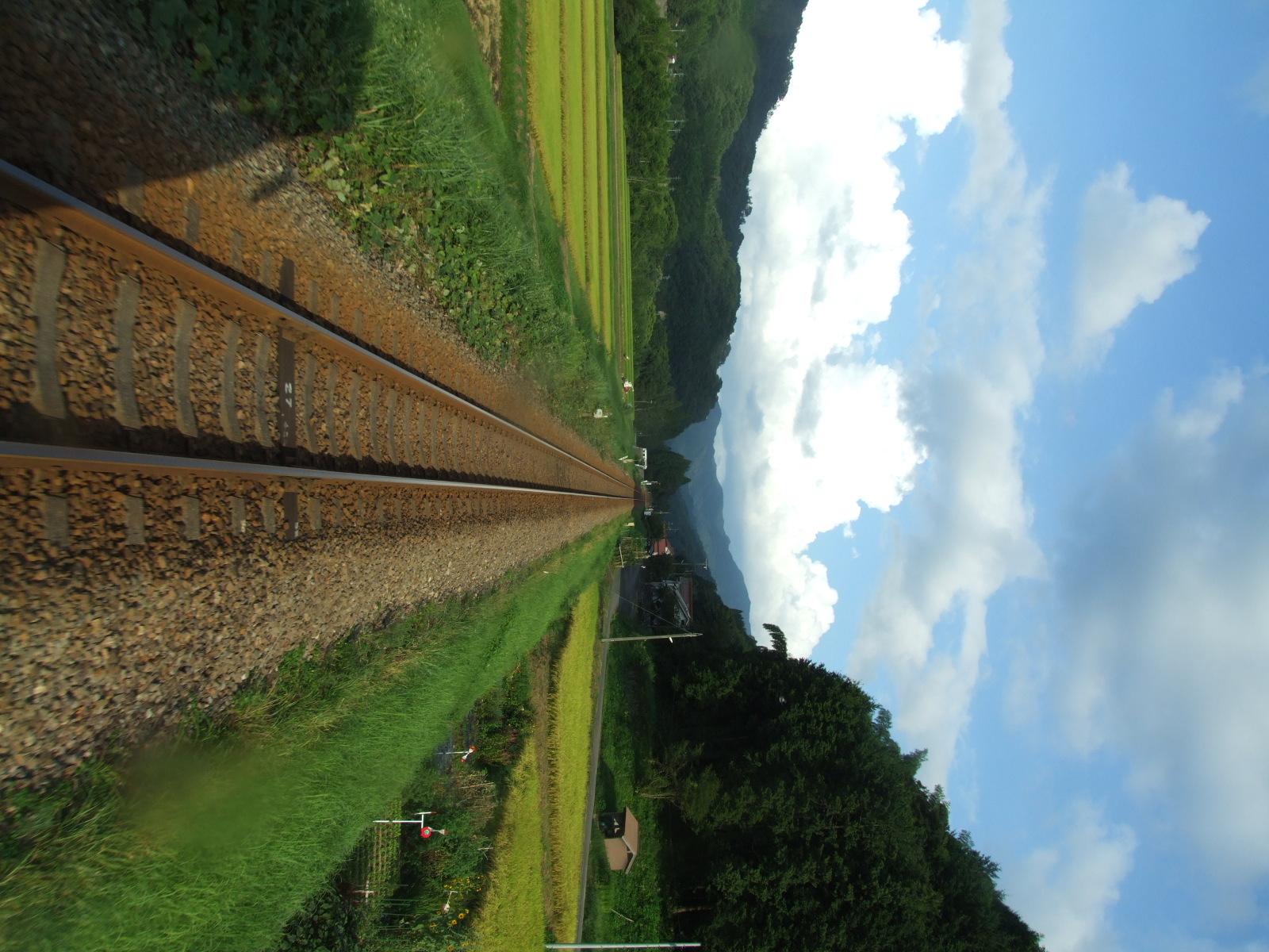 鉄道:夕立を追いかけて・・・