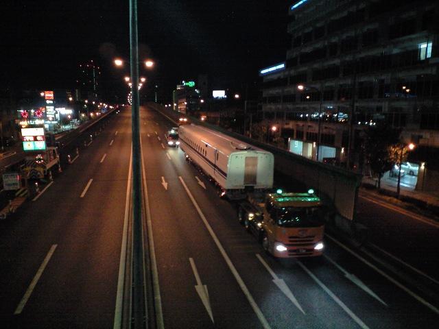 鉄道:真夜中の放浪者