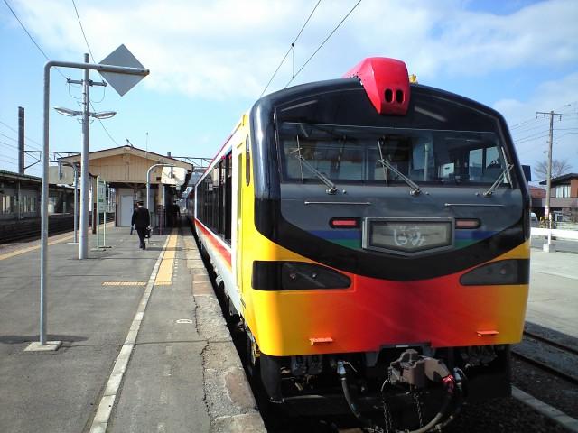 旅行:快速列車で快適な旅