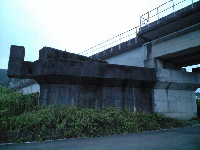 鉄道:未成線跡を眺める
