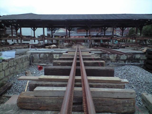 廃線:三木駅舎移設