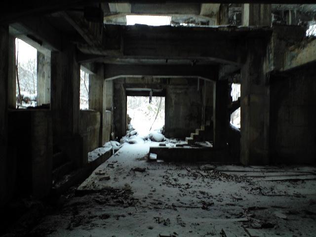 廃墟:ちょっと図書館に行ってきた