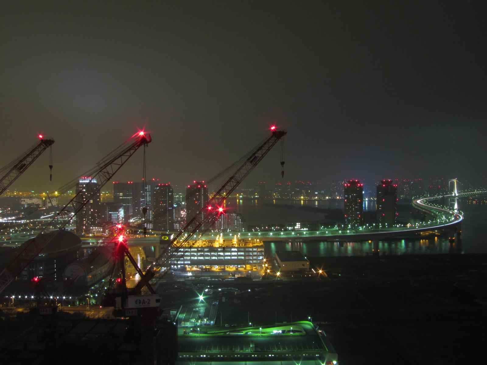 写真:昨日の夜景