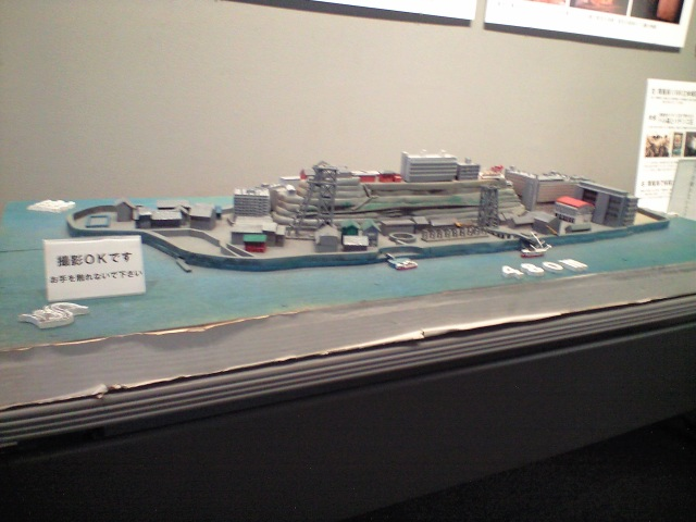 廃墟:『軍艦島全景 -未来の記憶-』 を見に行ってきた