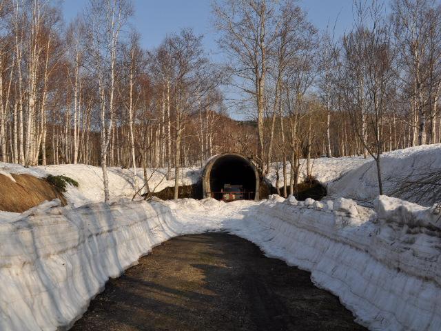 廃線:雪景色の深名線と名羽線