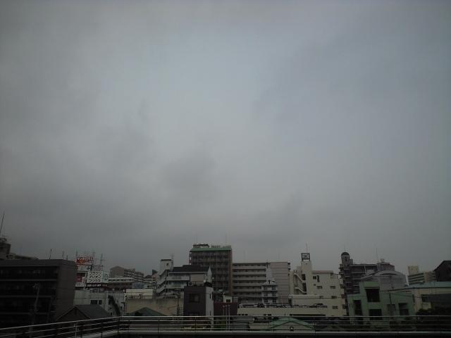 日記:どんより曇り空
