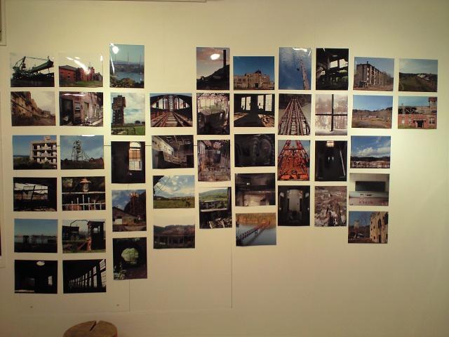 廃墟:「軍艦島+産業遺産写真展」設営完了