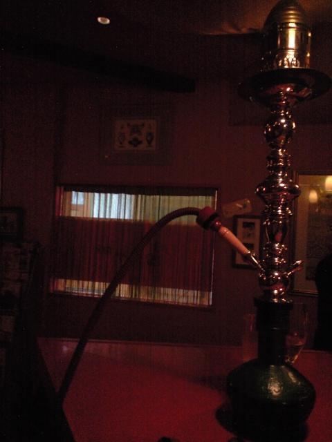 タバコ:水タバコのススメ