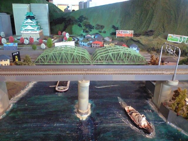 鉄道:ジオラマにも鉄橋の魂