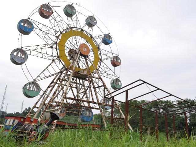 廃墟:念願の廃遊園地