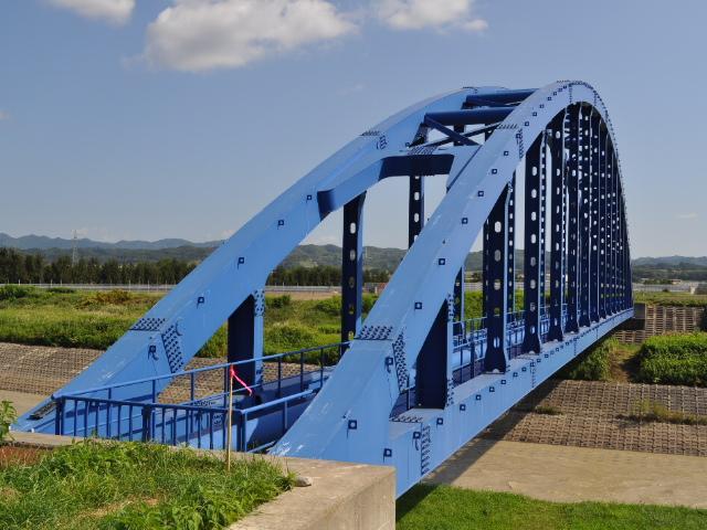 橋梁:今日のアーチ鋼橋
