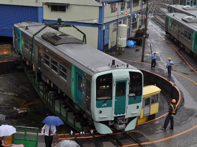 鉄道:徳島運転所なう