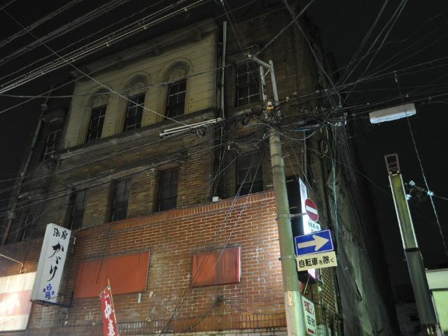 廃墟:歓楽街に残る廃ビル