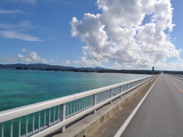 風景:今日の角島大橋