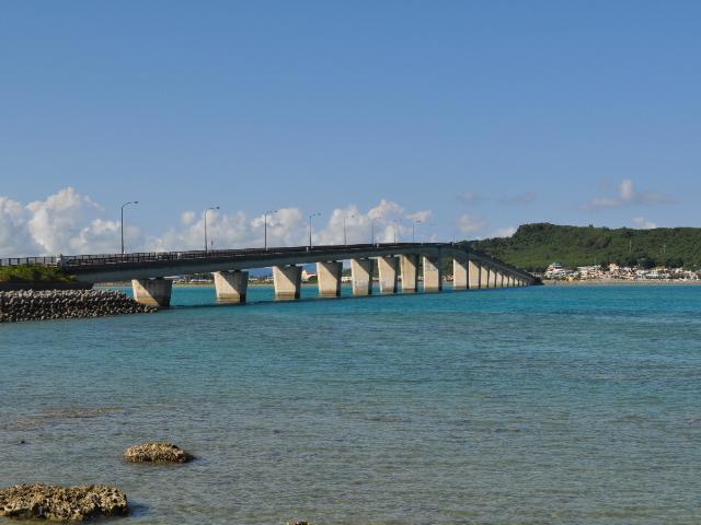 橋梁:今日の海中道路