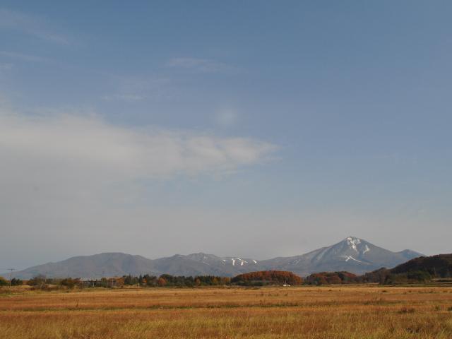 風景:山を頂く