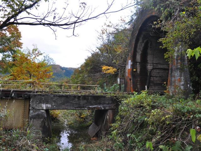鉄道:廃線のトンネルのようだけど
