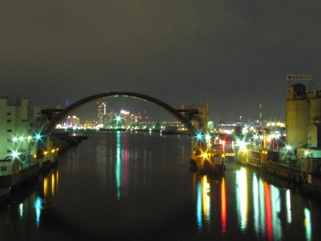 ドボク@夜の水門