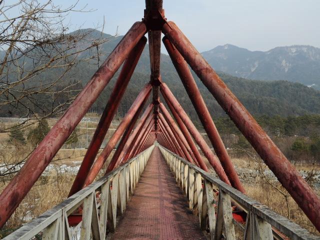 橋梁@とある木曽路の三弦橋