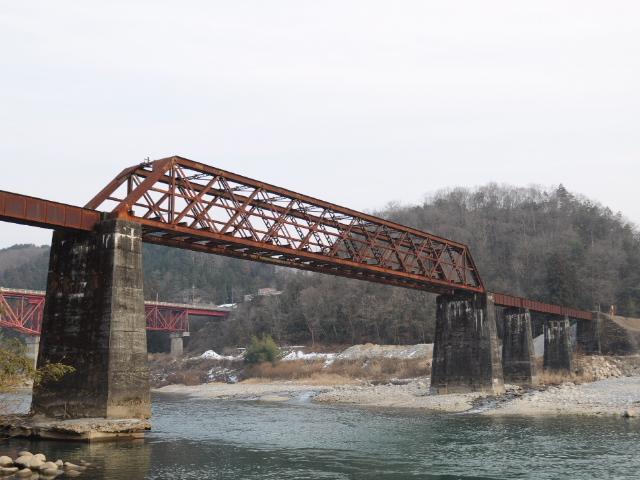 廃線@とある木曽路のトラス橋梁