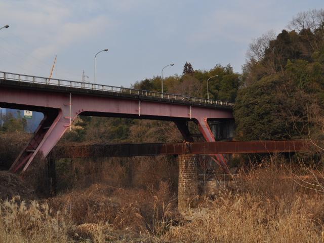 橋梁@とある木曽路のトラス天国