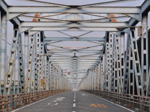 廃道@今日の廃カンチレバー橋