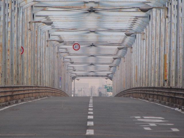 廃道@鳥飼大橋の廃橋でroad explorerさんカブレっぼく