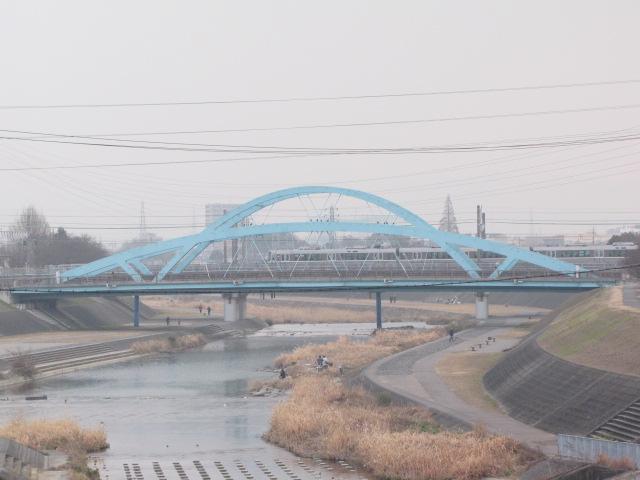橋梁@変な形のアーチ橋