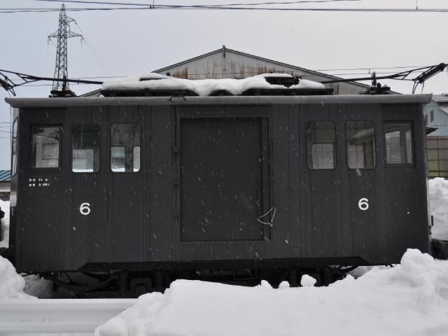 鉄道@国内最古の電気機関車テキ6