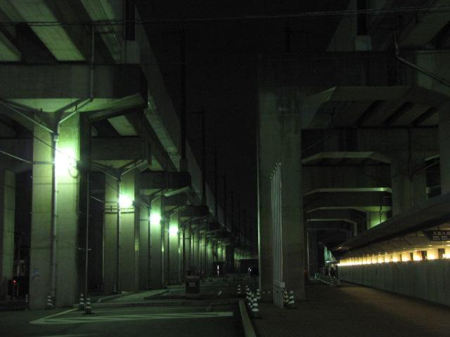 橋脚@鉄道建設公団のコンクリート橋脚群