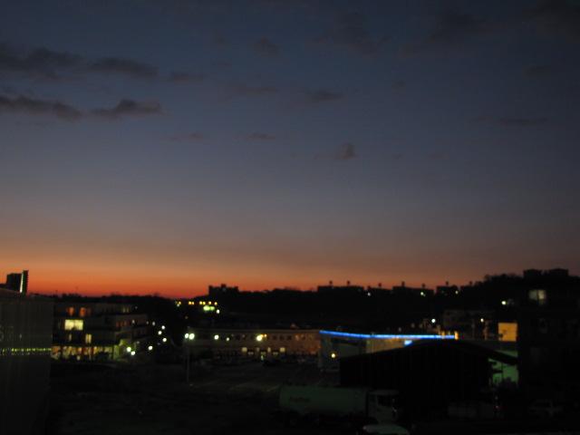 日記@本日の夕景