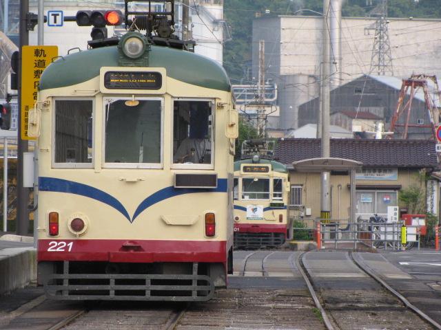 鉄道@或る電停