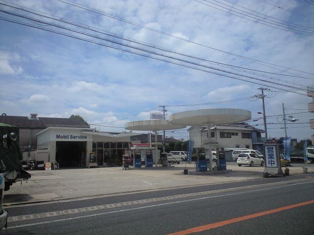 建築@今日のガソリンスタンド
