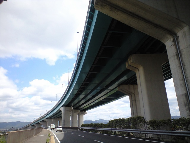 橋脚@今日の久御山ジャンクション