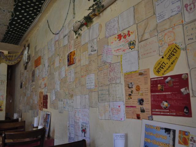 グルメ@西明石のインド料理屋アナンダでチーズナンカレーセット
