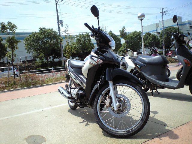 バイク@原付2種バイク WAVE125iのレポート