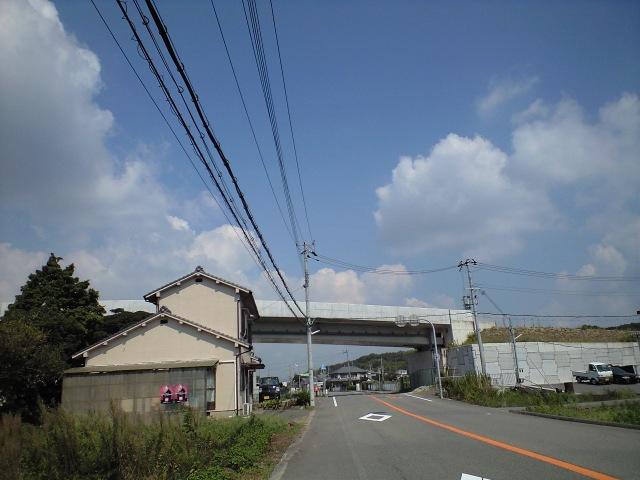 未成道@きまぐれ未完道路 国道2号線神戸西バイパス濾谷ジャンクション