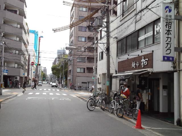 グルメ@今日のラーメニング 大阪 四ツ橋の麺や「拓」