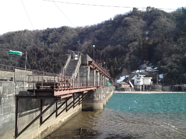 ダム@「旅するクレストゲートフェチはせつなくてダムを見るとすぐ寄り道しちゃうの」