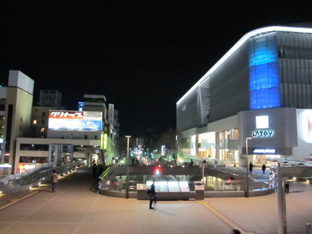すっかり綺麗な駅前になったけれど、再開発中は貨物ホームの上にアニメイトの仮設店舗があったんだよな〜