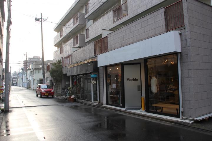 メイド@アニメ串あげ学校ハルヒ学園跡を歩く 跡地はすっかりこじゃれた服屋になってました