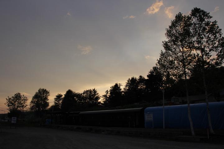 鉄道@今日の夕景