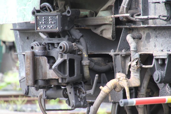 鉄道@とある貨物の遠隔操作式自動連結解放装置 (※撮影には許可を頂きました)