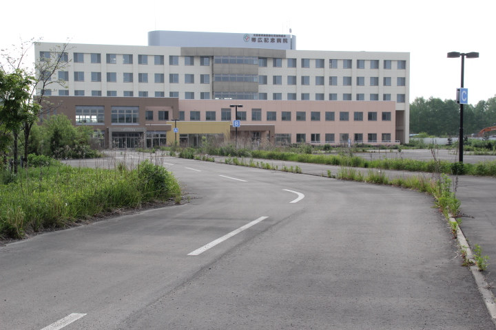 未成@未成病院を歩く