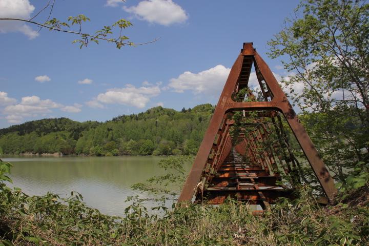 橋梁@たまには三弦橋の写真など