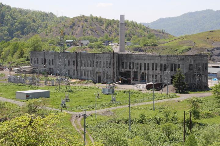 炭鉱@廃パワースポット 北炭清水沢総合電力所