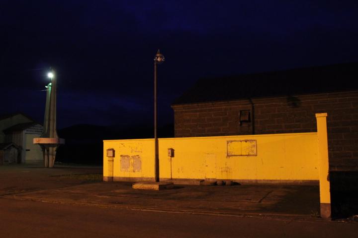 廃墟@ガソリンスタンドと農業倉庫