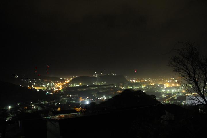 工場@今日の夜景