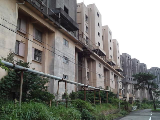 団地@ #Jheritage長崎産業遺産視察勉強会 池島と言えばココですよね