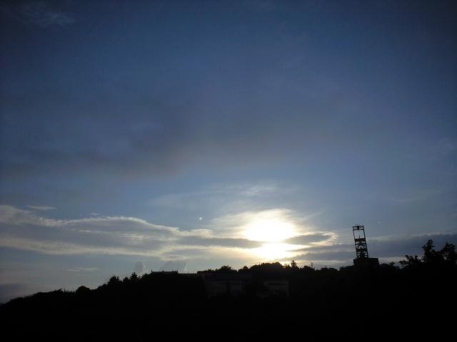 #Jheritage長崎産業遺産視察勉強会 池島炭鉱1番方出勤なう(夜明け)